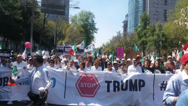 Mexico Trump Protest