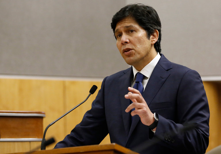 Kevin de Leon, the leader of the State Senate, said legislation to turn California into a so-called sanctuary state would enhance public safety.